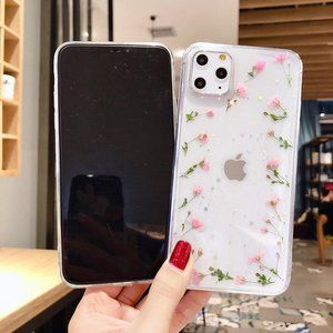 NEW iPhone 11/Pro/Max/XR Real Dried Floral case